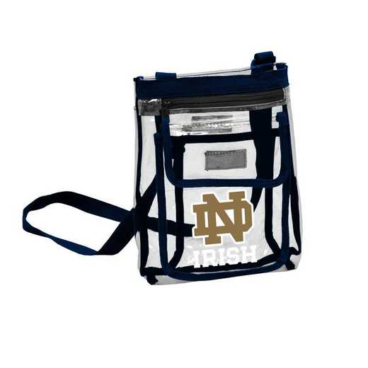 190-66P: Notre Dame Gameday Clear Crossbody
