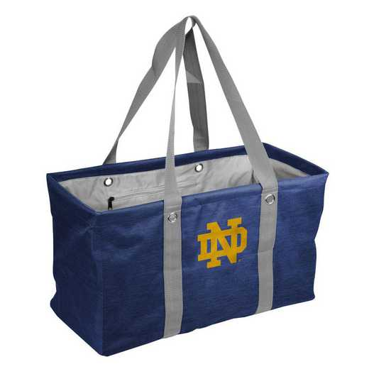 190-765-CR1: Notre Dame Crosshatch Picnic Caddy