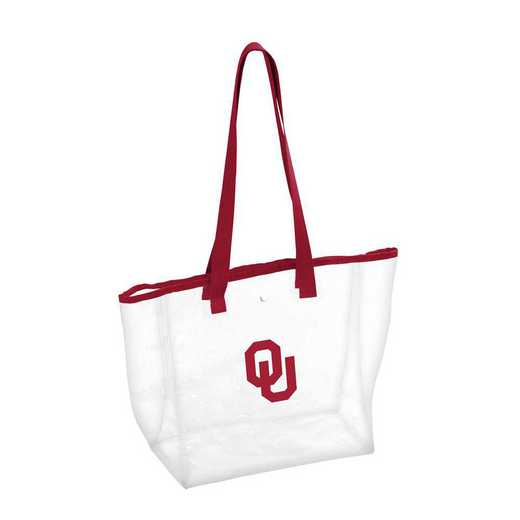 192-65P-1: Oklahoma Stadium Clear Bag
