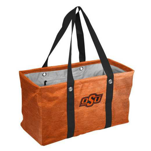 193-765-CR1: OK State Crosshatch Picnic Caddy