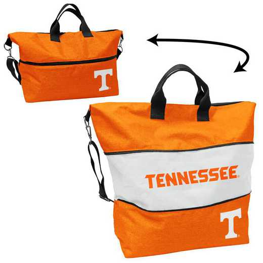 217-665-CR1: Tennessee Crosshatch Expandable Tote