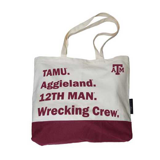 219-66F-1: Texas A&M Favorite Things Tote