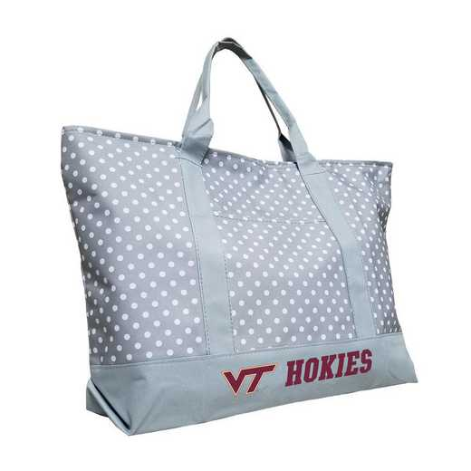235-67P-1: Virginia Tech Dot Tote