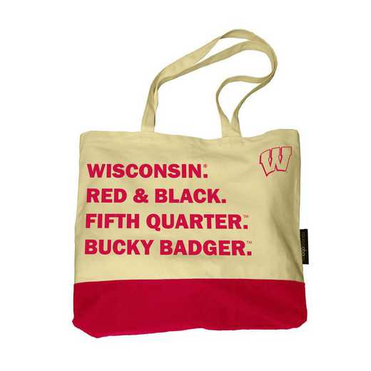 244-66F-1: Wisconsin Favorite Things Tote