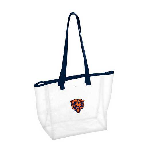 606-65P: Chicago Bears Stadium Clear Tote