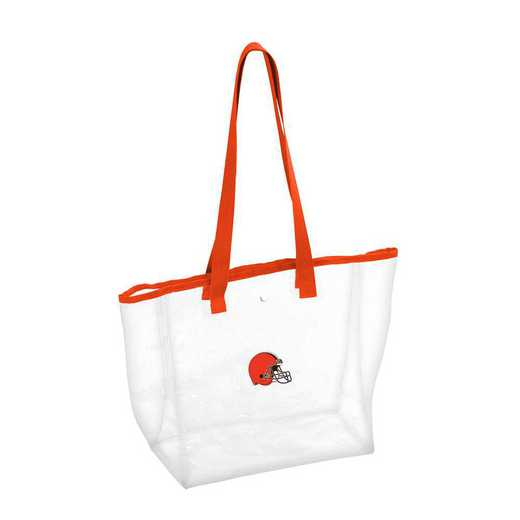 608-65P: Cleveland Browns Stadium Clear Tote