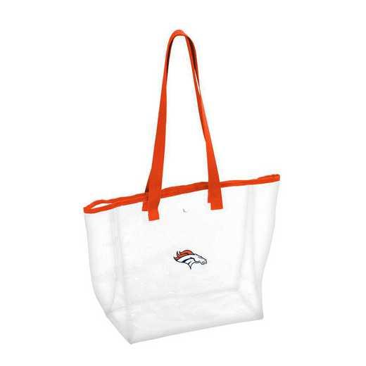 610-65P: Denver Broncos Stadium Clear Tote