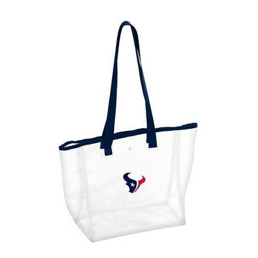 613-65P: Houston Texans Stadium Clear Tote