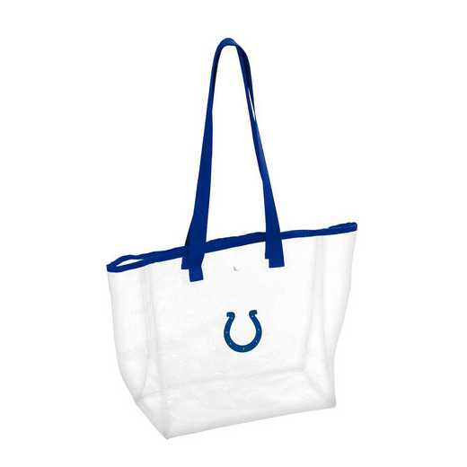 614-65P: Indianapolis Colts Stadium Clear Tote