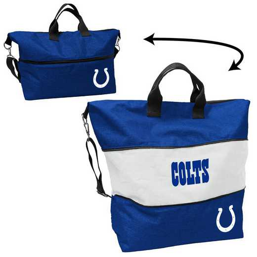 614-665-CR1: Indianapolis Colts Crosshatch Expandable Tote