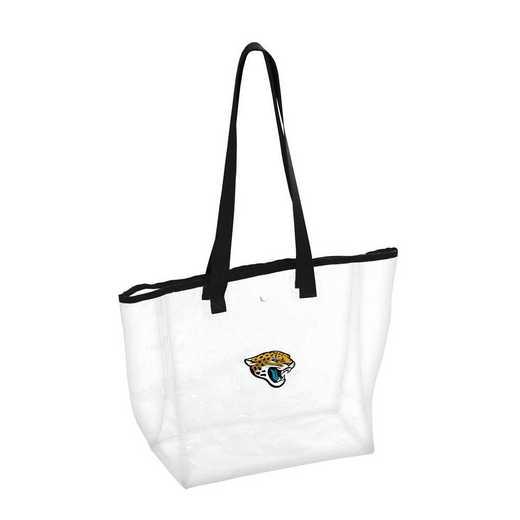 615-65P: Jacksonville Jaguars Stadium Clear Tote