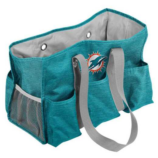 617-865-CR1: Miami Dolphins Crosshatch Jr Caddy