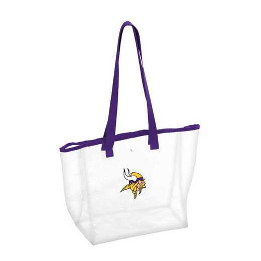 618-65P: Minnesota Vikings Stadium Clear Tote