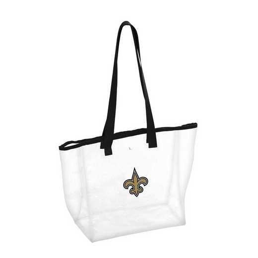 620-65P: New Orleans Saints Stadium Clear Tote