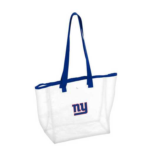 621-65P: New York Giants Stadium Clear Tote