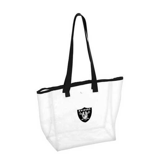 623-65P: Oakland Raiders Stadium Clear Tote
