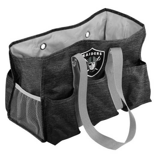 623-865-CR1: Oakland Raiders Crosshatch Jr Caddy