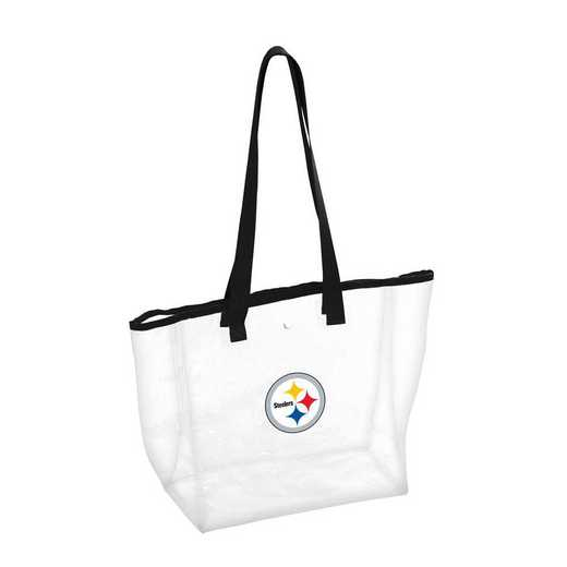 625-65P: Pittsburgh Steelers Stadium Clear Tote
