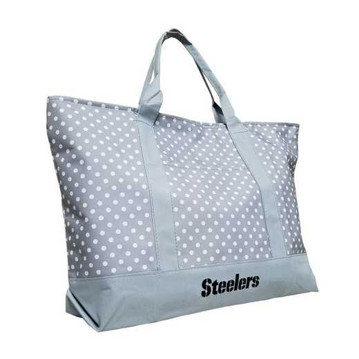 625-67P-1: Pittsburgh Steelers Dot Tote