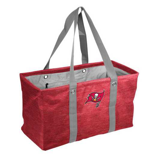630-765-CR1: Tampa Bay Buccaneers Crosshatch Picnic Caddy