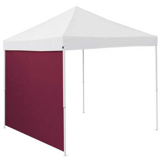001-48-MAROON: Plain Maroon 9 x 9 Side Panel