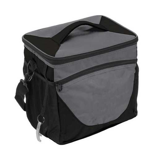 001-63-CHARCOAL: Plain Charcoal 24 Can Cooler