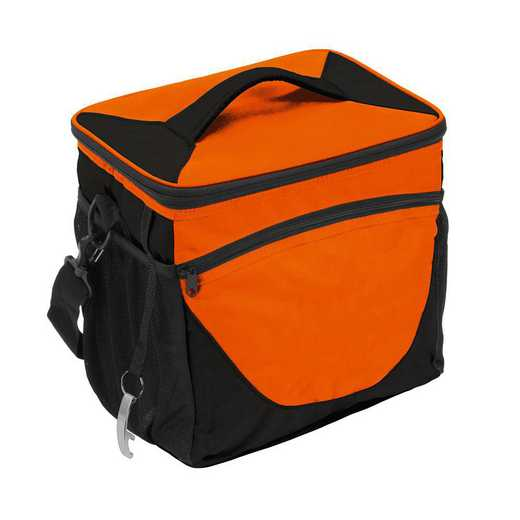 001-63-ORANGE: Plain Orange 24 Can Cooler