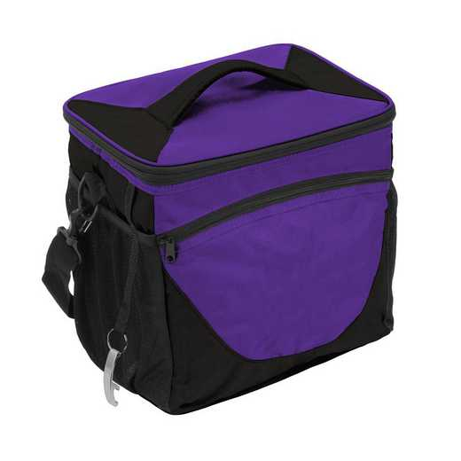 001-63-PURPLE: Plain Purple 24 Can Cooler