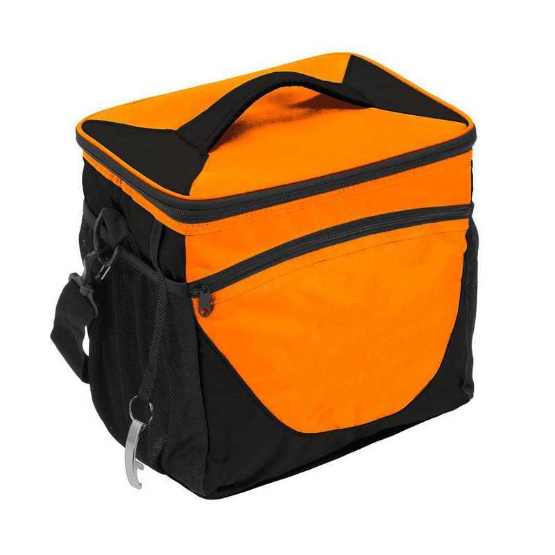 001-63-TANGERINE: Plain Tangerine 24 Can Cooler