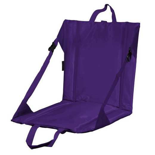 001-80-PURPLE: Plain Purple Stadium Seat