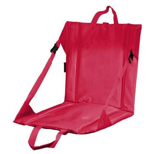 001-80-RED: Plain Red Stadium Seat