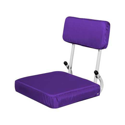 001-94-PURPLE: Plain Purple Hard Back SS