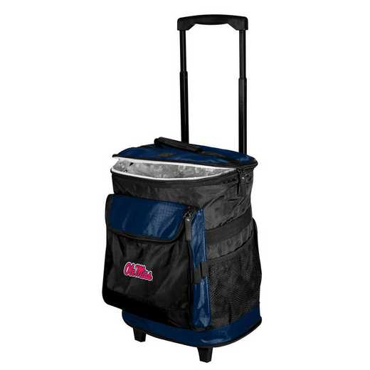 176-57B-1: Ole Miss Rolling Cooler