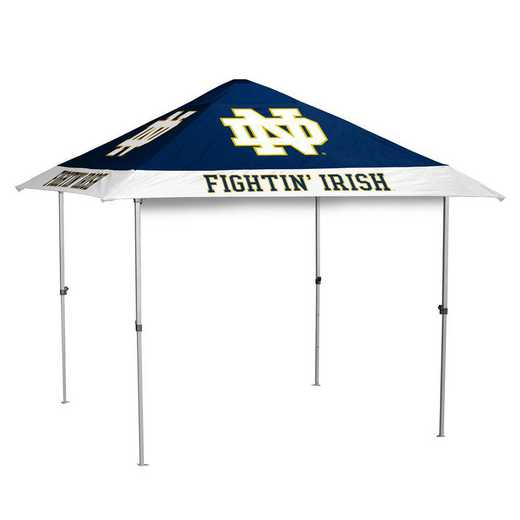 190-37N-1: Notre Dame Navy/Kelly Pagoda Tent