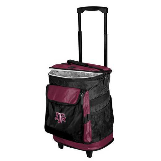 219-57B-1: TX A&M Rolling Cooler