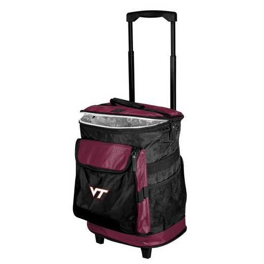 235-57B-1: Virginia Tech Rolling Cooler