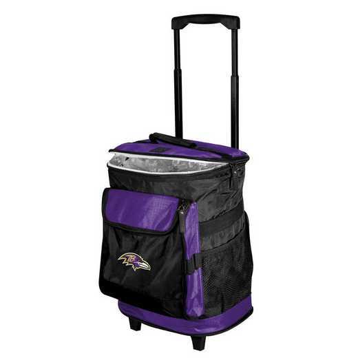 603-57B-1: Baltimore Ravens Rolling Cooler