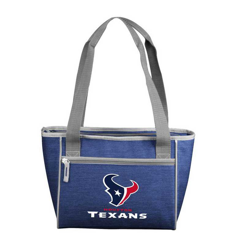 613-83-CR1: Houston Texans Crosshatch 16 Can Cooler Tote