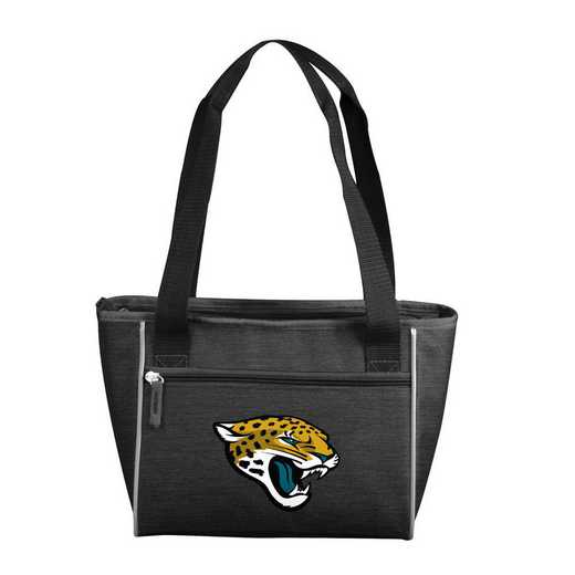 615-83-CR1: Jacksonville Jaguars Crosshatch 16 Can Cooler Tote