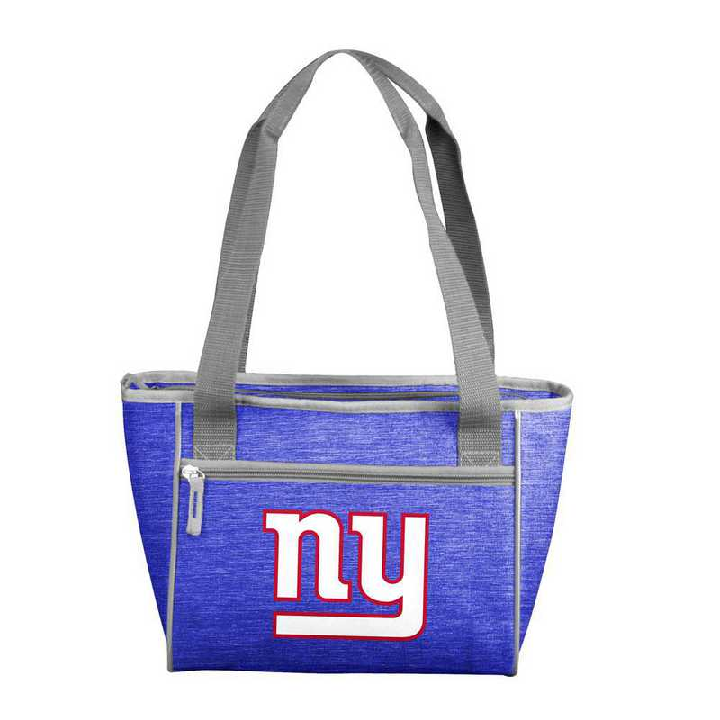 621-83-CR1: New York Giants Crosshatch 16 Can Cooler Tote