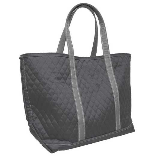 001-66M-CHR: Plain Charcoal Merit Tote