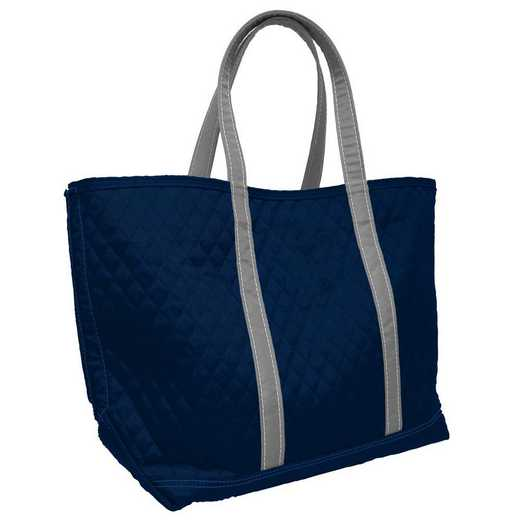 001-66M-NVY: Plain Navy Merit Tote