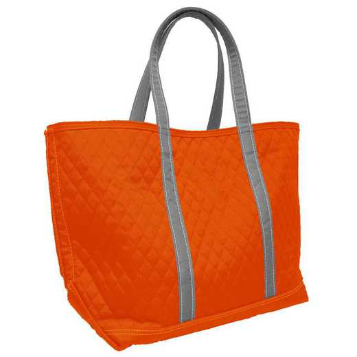 001-66M-ORN: Plain Orange Merit Tote