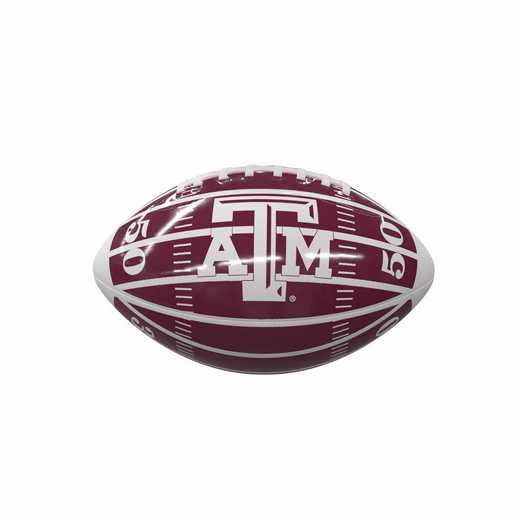 219-93MCG-2: TX A&M Field Micro-Sized Football