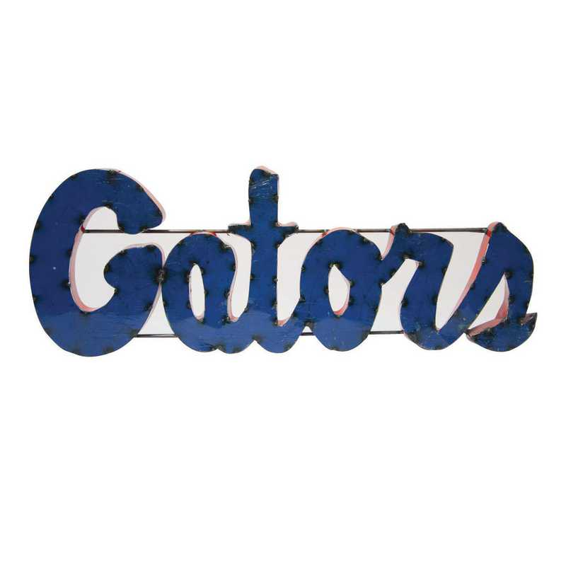 GATORWD: Florida Gators Metal Décor