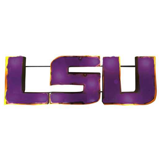 LSU1WD: LSU Metal Décor