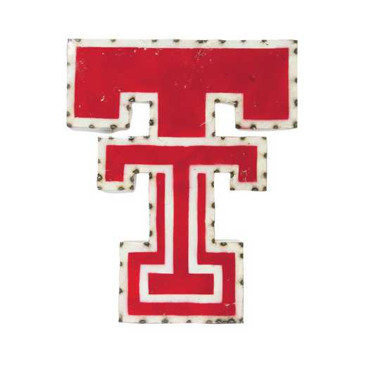 DOUBLETWD: Texas Tech Double T Metal Décor