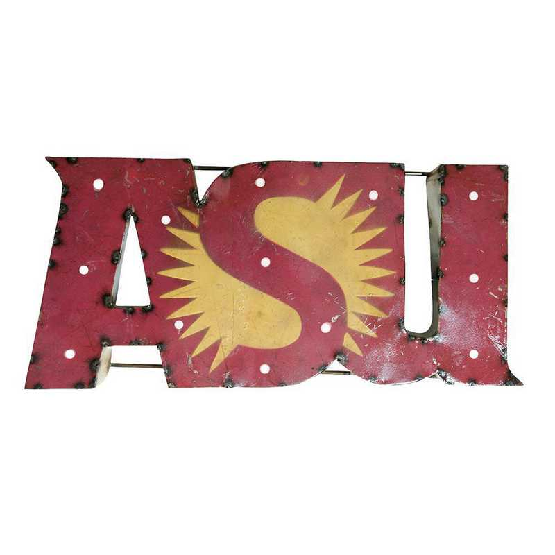 ASUWDLGT: LRT AZ ST Sun Metal Décor Lighted