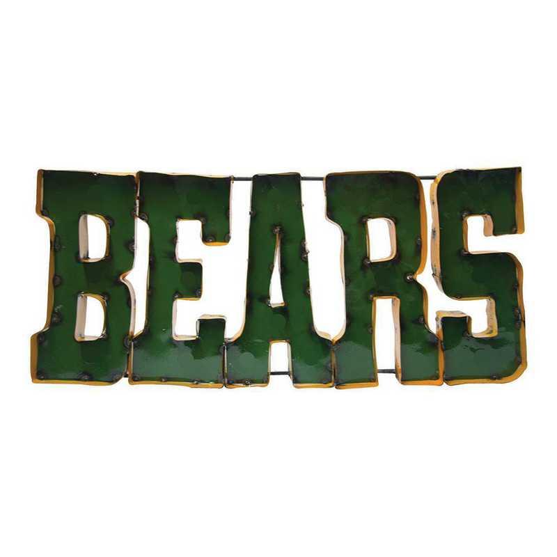 BEARSWD: LRT Baylor Bears Metal Décor