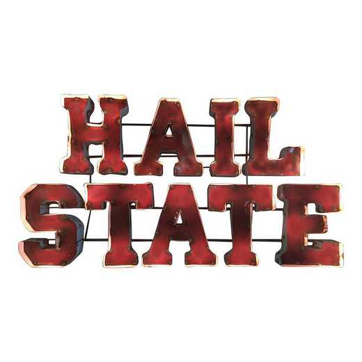 HAILSTATEWD: LRT Ms St Hail State Metal Décor